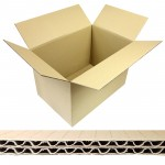 Boxes double-walled  from100 mm length