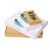 Maxi letter boxs with print