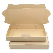 Letter-sized maxi-carton 180x100x30 mm - MB 0, brown
