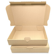 Letter-sized maxi-carton 240x160x45 mm - MB 3, brown (DIN...