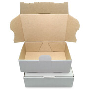 Letter-sized maxi-carton 160x110x50 mm - MB 1 weiss
