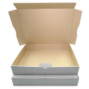 Letter-sized maxi-carton 320x225x50 mm - MB 4 weiss (DIN A4)