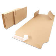 Book packaging 280X205X20-70 mm - BV 3 brown
