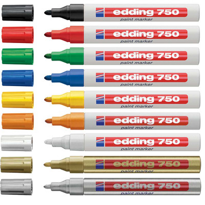 Edding 750 Glanzlack-Marker creative - 2 - 4 mm