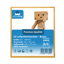 10x E5 Bubble mailers brown 240 x 275 mm - officeking