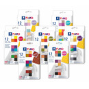 STAEDLER FIMO soft modelling clay 12 Colours