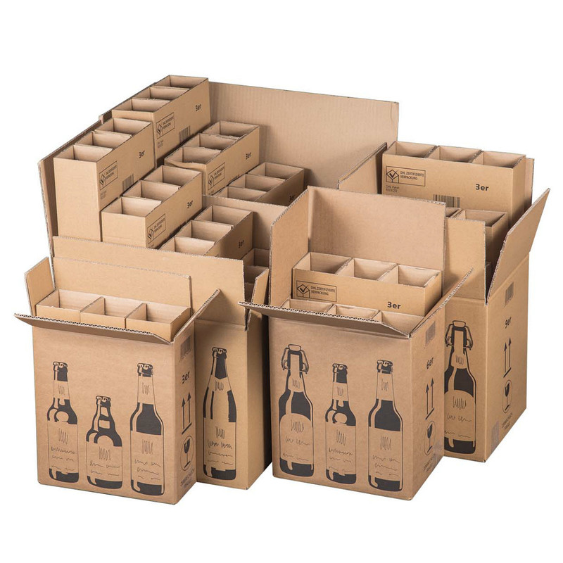 Shipping Box For 3 24 Beer Bottles Selectable